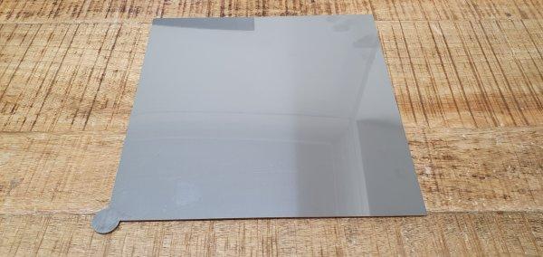 Druckbettauflage Edelstahl 1.4016 2R | kaltgewalzt blankgeglüht | Dicke 0.5mm