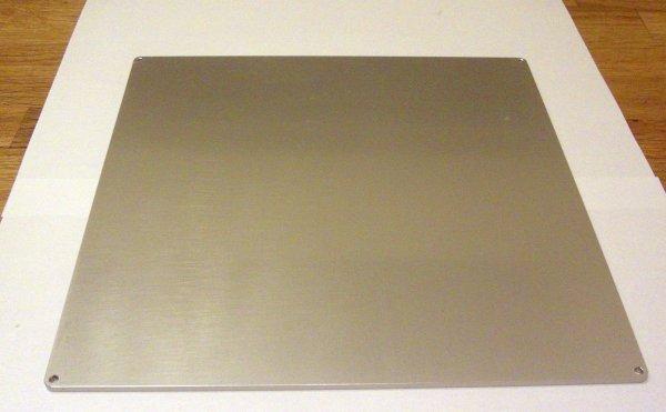 Dauerdruckplatte Aluminium mit Kapton-Heizmatte 12V und SSR Relais