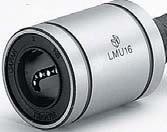 Markenlager LMU12 Linearlager 4-reihig