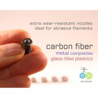 v6 Extra Nozzle - Hardened Steel - für Carbonfilament