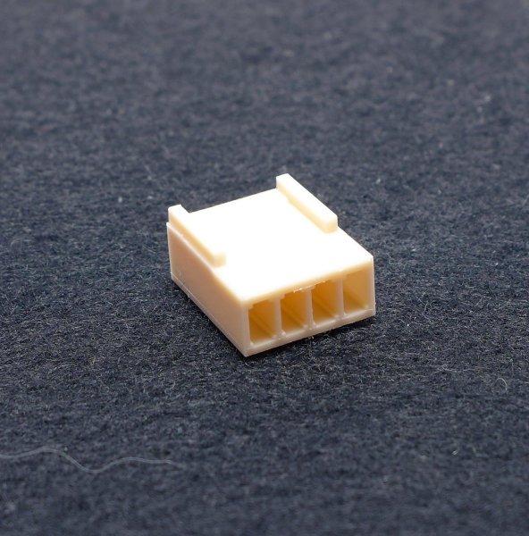 Platinensteckverbinder NS25-G4 Buchsenleiste 4 Pins gerade Leergehäuse A2542