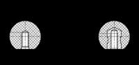 DIN 319 Kugelknöpfe Kunststoff, rot, Form C