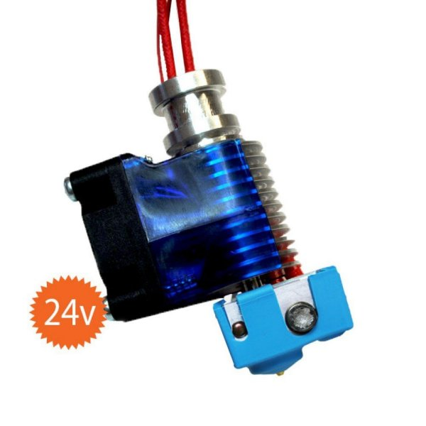 v6 HotEnd Full Kit 24v - 1.75mm Universal (with Bowden add-on)