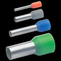 20x Isolierte Aderendhülsen nach DIN mit Easy-Entry, Farbcode 1