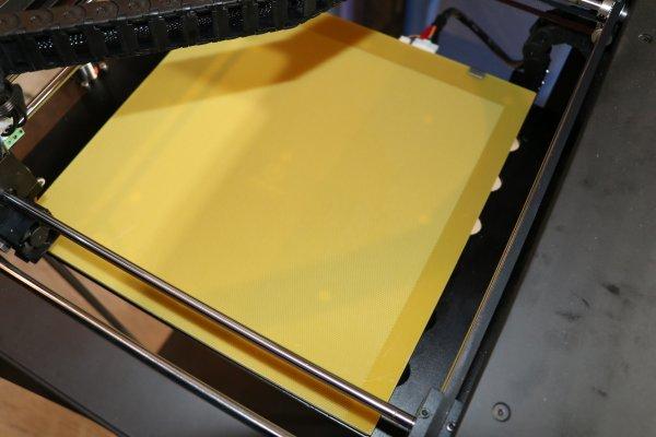Perforierte Platte 33x34cm für Raise3D N2 / N2+