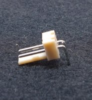 Platinensteckverbinder NS25-W2P - 2 Pins - 90° Winkel