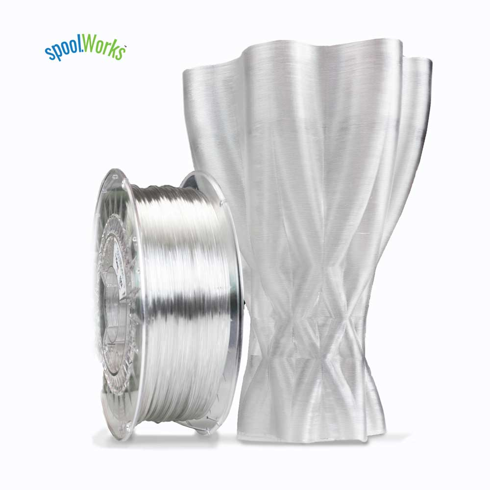 1.75mm, Cement Grey E3D spoolWorks Edge Filament