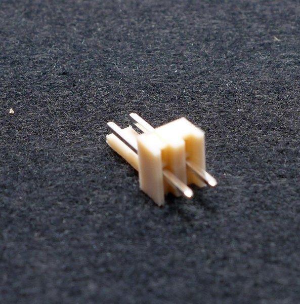 Platinensteckverbinder NS25-W2P - Stiftleiste - NS25 Serie - 2 Pins - gerade